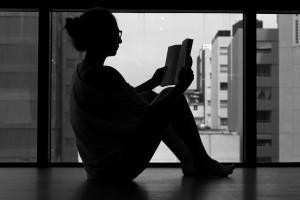 girl n book
